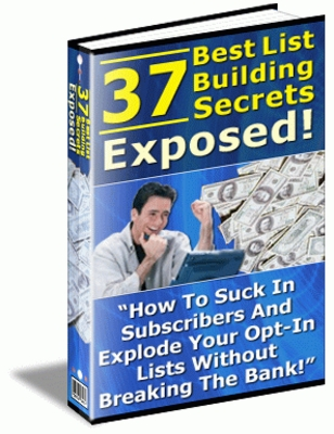 Product picture 37 Best List Building Secrets exposed
